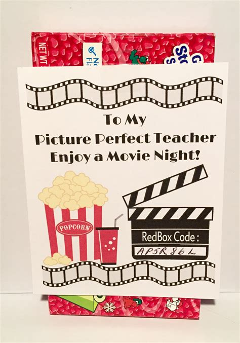 printable redbox gift cards redbox teacher appreciation gift tag sweetdesignsbyregan