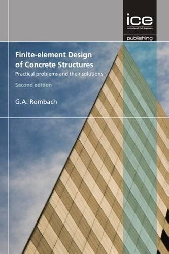 progressive collapse of structures second edition books structural concrete finite element analysis for limit