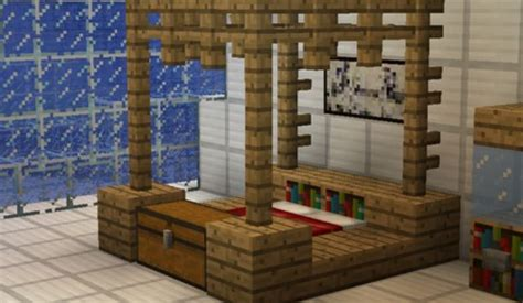 minecraft bed designs best 25 minecraft furniture ideas on pinterest