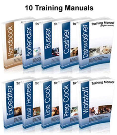 restaurant training package 50 templates restaurant