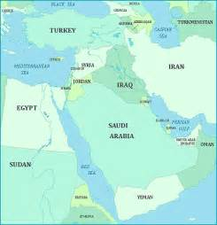 us map of middle east map of the middle east