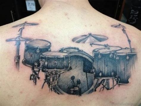 drums tattoo designs 50 drum tattoos