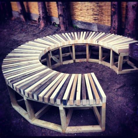 build  circular bench google search gardenbench
