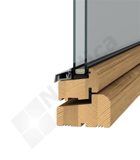 wood window section outward opening timber windows