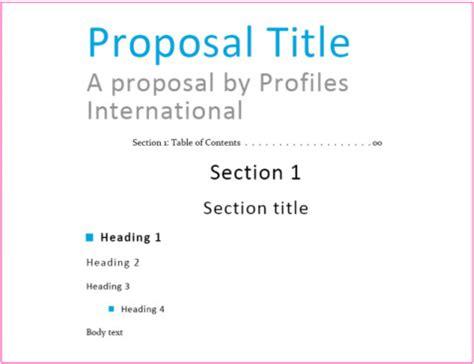 design proposal font proposal design step by step