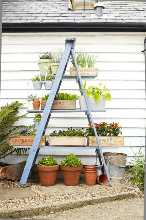 Ladder Shelf For Plants by 15 Diy Plant Stands You Can Make Yourself Home And