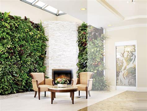 Living Room Wall Garden Living Walls Green Plant And Vertical Garden Walls
