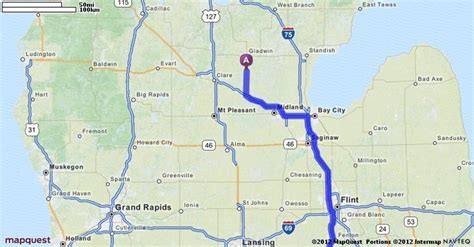 beaverton colorado map driving directions from beaverton michigan to detroit