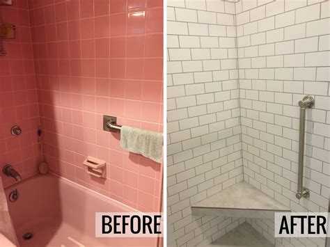 bathroom remodel quad cities davenport ia pink bathroom remodeled and updated