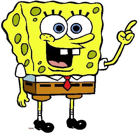 spongebob painting free spongebob squarepants clip cliparts co