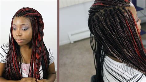 box braid styles for women how to do box braids with