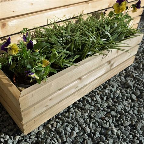 grange contemporary rectangular planter gardenstreet