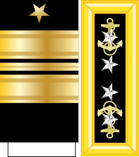 Us Navy Admiral Rank Insignia | file us admiral of navy insignia svg wikimedia commons