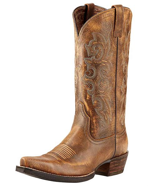ariat s 12 quot alabama x toe boots vintage bomber