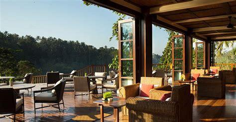 Backyard Bistro Restaurant by Cuisine Ubud Luxury Hotel Resort Hanging Gardens