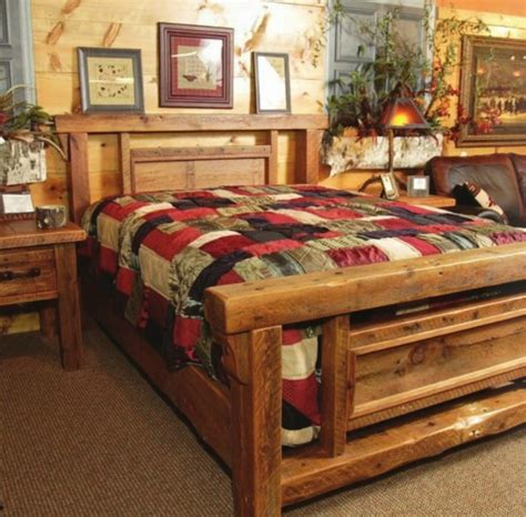 country bed frames cozy country style bedroom hunting lodge theme for new house pinterest