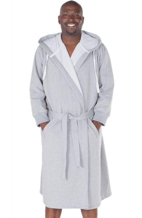 most comfortable robe ever new mens sweatshirt style hooded bathrobe ebay