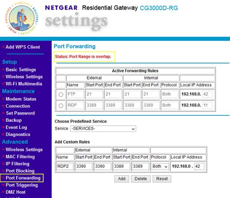 forwarding external ip networking forwarding on router using same