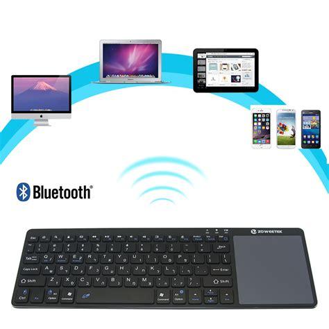 2 3 4 Ultra Slim Bluetooth 3 0 Keyboard Stand New Arrival Bl zoweetek k12bt 1 ultra slim wireless hebrew bluetooth keyboard touch pad thin light portable for