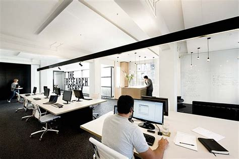 interior design agency simple and contemporary research agency office in new zealand