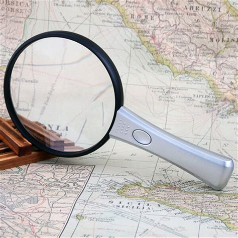 Kaca Pembesar Loupe Magnifying Glass Magnifier Lens kualitas tinggi 10x 20x bifocal lensa ganda genggam 90 mm