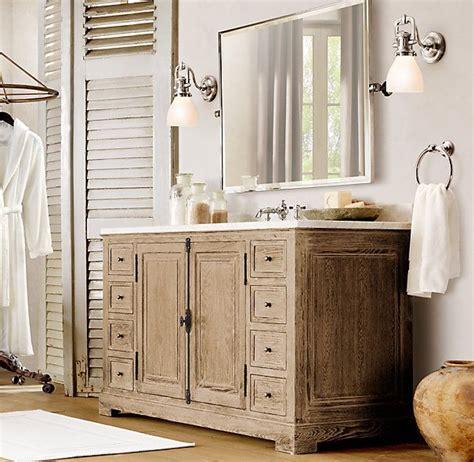 bathroom restoration ideas restoration hardware style bathroom vanities restoration