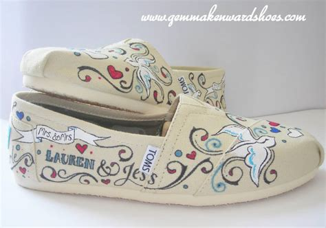 custom wedding sneakers flat shoes