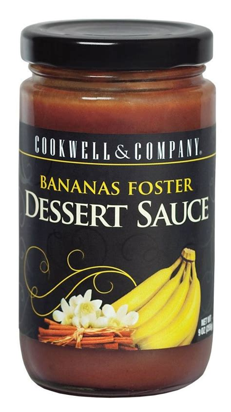 Kaos Banana World 5 Tx bananas foster dessert sauce from cookwell and company in