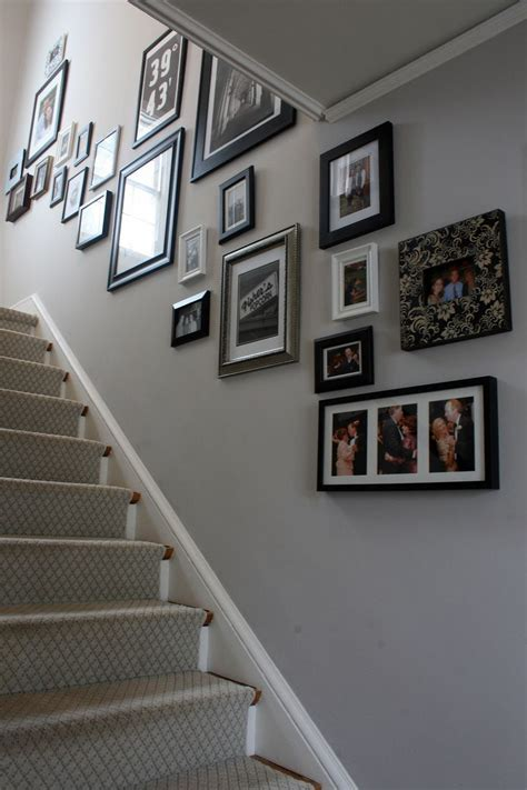 center hall best paints cornforth white center with photo collage stairs entries halls hallway