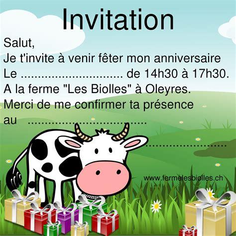 Modele Carte Invitation