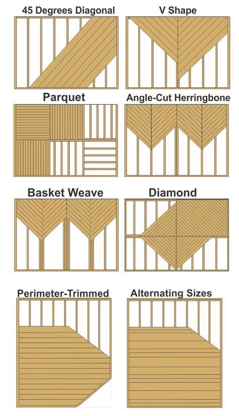 Deck Pattern Ideas | deck boards deck boards patterns