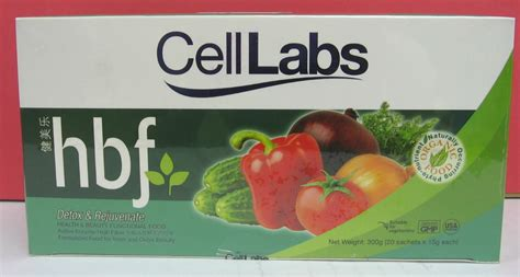 Detox Clearance by Stock Clearance Celllabs Hbf 20 S X 15g Detox Rejuvanate