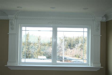 Crown Molding Around Windows Ideas More Customized Molding Moulding Ideas