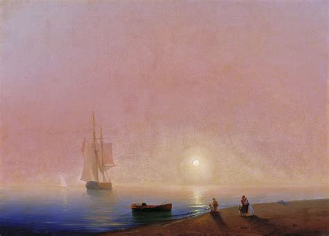ivan aivazovsky the ninth wave graphicine the deep farewell ivan aivazovsky wikiart org