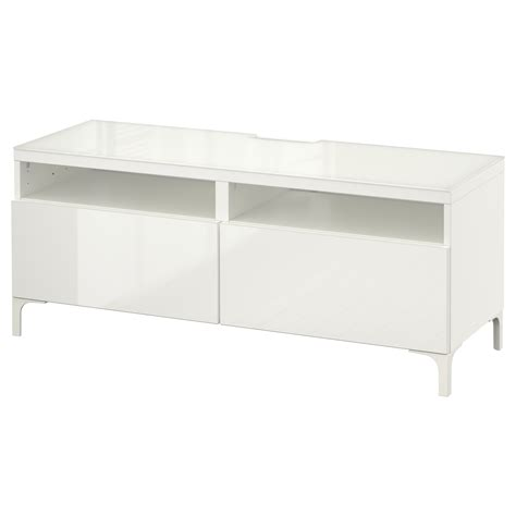 white bench with drawers best 197 tv bench with drawers white selsviken high gloss