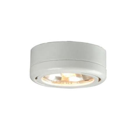 commercial electric under cabinet lighting installation hton bay 1 light under cabinet white puck light