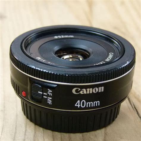 Canon Lens Ef 40mm F2 8 Stm used canon ef 40mm f2 8 stm pancake lens used af lenses