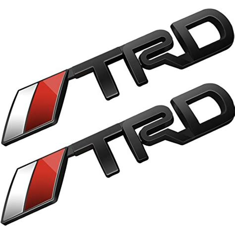 Emblem Trd Chrome Berkualitas compare price black 4runner emblem on statementsltd