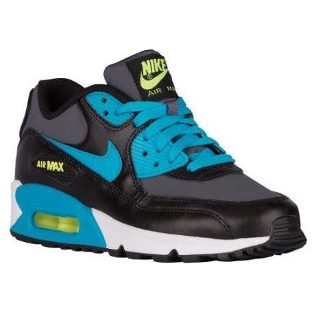 nike air max 90 black and white nike air max 90 boys grade school running shoes black