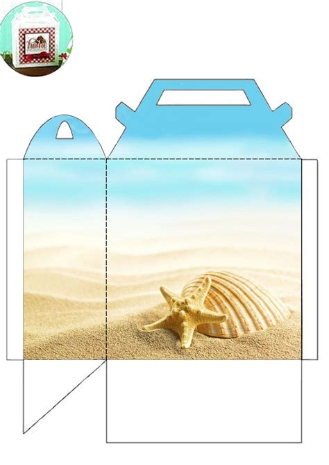 pin  barbara  beach ideas gift bags boxes printables