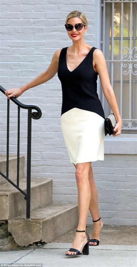 Dress Pendek Mini Dress Simply Stunning Style ivanka wears dress in d c weather daily mail
