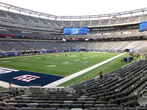 nys section 5 football giants jets metlife stadium section 121 rateyourseats com