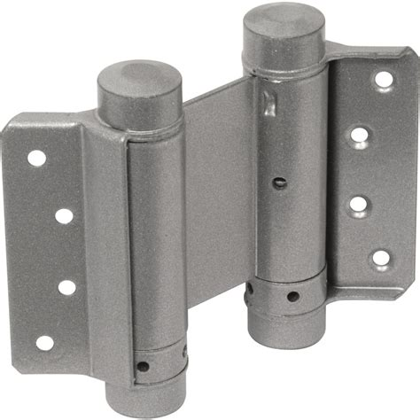 double swing hinge double action spring hinge 100mm toolstation