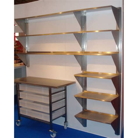 wall shelving stainless steel wall shelves at invicta bakeware