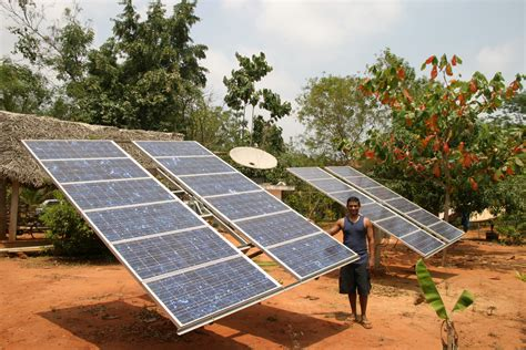 solar power home india opic solar panels offer a clean source of electricity in rural india eq int l magazine