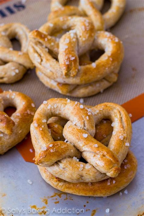 Handmade Pretzels - fit friday 1 living learning