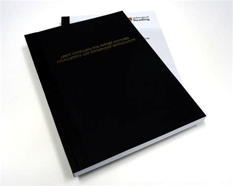 Thesis Binding Reading Uk by Reading Thesis Dissertation Binding Exles
