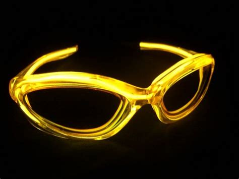 sunglasses with lights glasses with lights yellow led sunglasses get a led com
