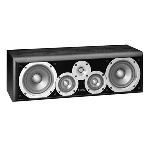infinity 3 5 speakers infinity pc351bk 5 25 quot 3 way passive center channel pc351bk