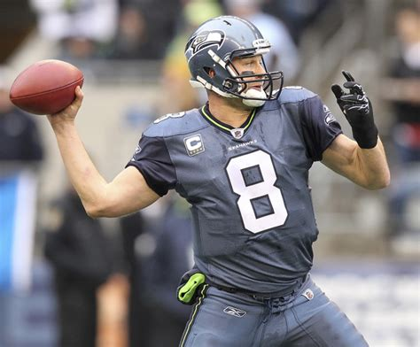 Mat Hasselbeck by Matt Hasselbeck Pictures Carolina Panthers V Seattle